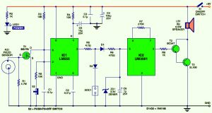 Vibration Sensor Alarm Circuit Design