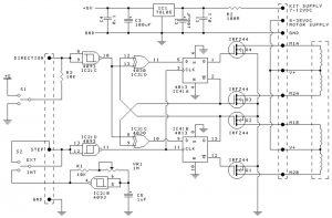 Unipolar Stepper Motor Driver Circuit Design