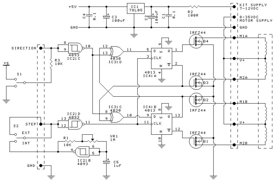 Bi Polar Led Driver Circuit Diagram