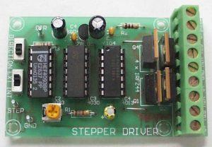 Unipolar Stepper Motor Driver Kit