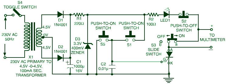 Triac  Scr  Transistor Tester
