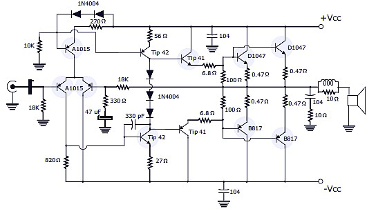 Tubeschematics blogspot furthermore W5DOR MiscSchematics furthermore Single Ended 6v6 Schematic as well 200w Power  lifier Using Transistor in addition Z3VpdGFyLWRlbGF5LXBlZGFsLXNjaGVtYXRpYw. on tube amplifier schematic diagrams 8