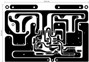 120W Power Amplifier PCB Layout Design