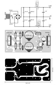 15V Symmetrical Power Supply for Stereo Tone Control