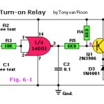 Delayed Turn-on Relay Switch